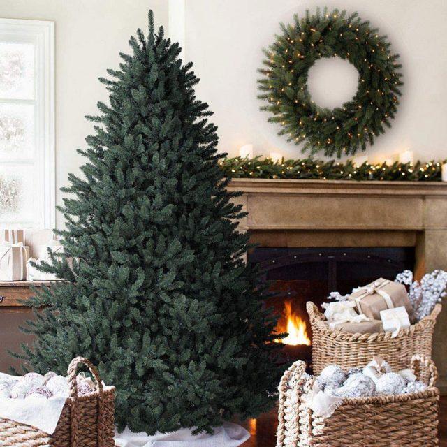 Balsam Hill Blue Spruce Artificial Unlit Christmas Tree