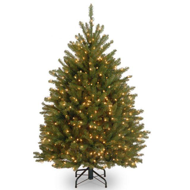 National Tree Dunhill Fir 450 Lights Xmas Tree
