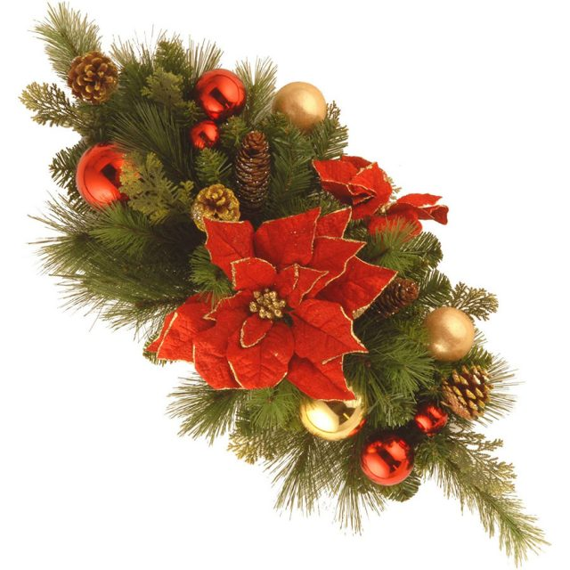 National Tree Decorative Collection Christmas Table Centerpiece