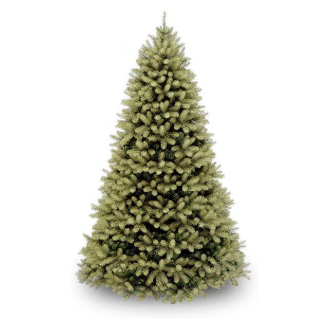 National Tree Feel Real Downswept Douglas Fir Unlit Christmas Tree