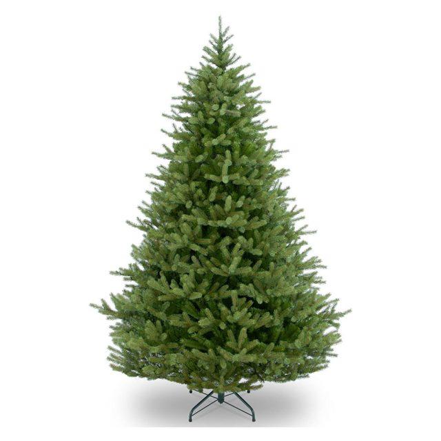 National Tree Feel Real Hinged Norway Spruce Unlit Christmas Tree