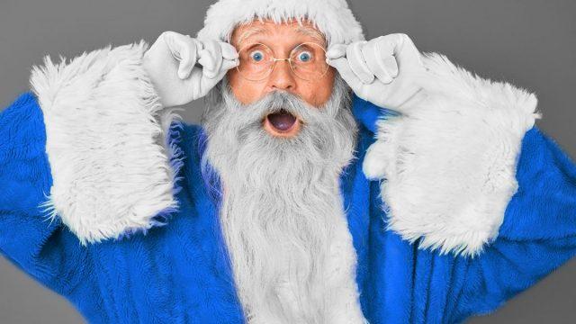 What Color Was Santa Claus Suit Originally?