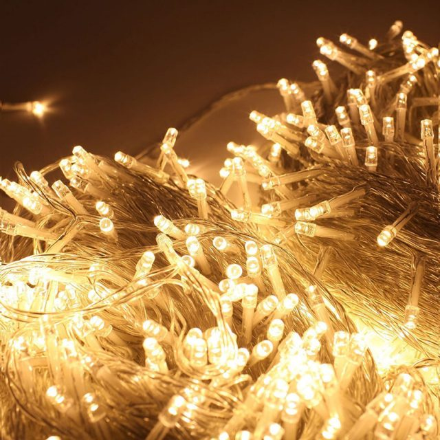 Zoic 500-LEDs 328-Feet String Christmas Lights